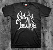 NASTY SAVAGE 'Logo'  T shirt (Exciter Razor Laaz Rockit Iron Maiden Slayer)