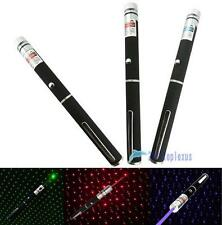1/3 Color New 2 in 1 Star Cap 405nm 1mW Laser Pointer Pen for Party$Job