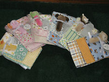 Carter's Baby - 3 Pack Receiving Blanket and Rattle Set
