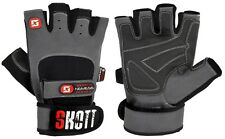 "Skott ""Nemesis"" weight lifting gym fitness bodybuilding sport gloves"
