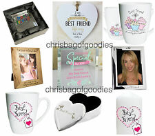 BEST FRIENDs Special Gifts For Her Birthday Home Keepsake THANK YOU Friendship