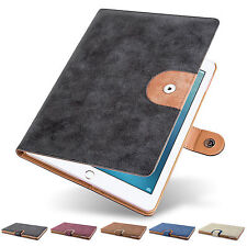 Gamuza De Cuero Smart Flip Funda Para Ipad 4 3 2 + Screen Protector + Stylus