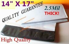 """5 / 10/ 15 Pcs THICK 2.5mil WHITE POLY MAILERS ENVELOPES SHIPPING BAGS 14"""" x 17"""""""