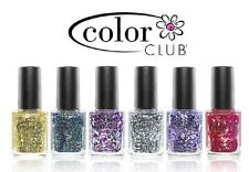 Color Club Backstage Pass Glitter Shades Various Colours 15ml Bottles NEW!!!