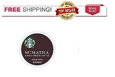 FRESH Starbucks Sumatra Dark Coffee Keurig k-Cups YOU PICK THE PACK SIZE