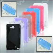 Silicone Gel S Curve Back Cover Case For Samsung Galaxy Note I9220 I717 N7000
