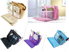 Hot Sell2013 in insert handbag purse travel organizer Bag in Bag pouch -5 Color