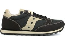 Saucony Jazz Low Vegan 1887-4 New Womens Black Oatmeal Athletic Casual Classic