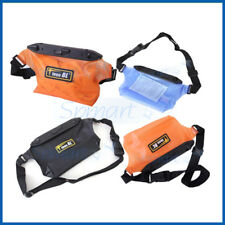 "20M Underwater Waterproof Dry Pouch ""COLOR""  Waist Belt Bum Bag Swimming Diving"