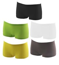 New Womens SEXY Ladies Girls Neon PLAIN Underwear Hot Pants Brief Boxer Shorts
