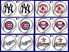 CHOOSE TEAM Set 2 Pack MLB Pennant New 14.5in ea. Wall Sign Decor Ships PRIORITY