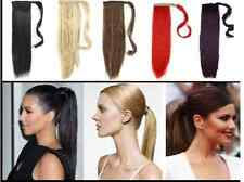 PONYTAIL HAIR EXTENSION CLIP IN WRAP AROUND PONY TAIL HAIRPIECE