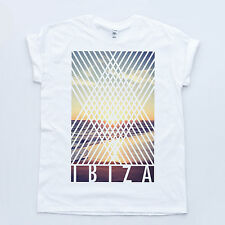 IBIZA Beach Holiday Hipster Swag Indie Top Dope Hype Summer Club Fashion T-shirt