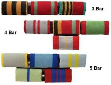 Genuine Russian Medal Bars WITH RIBBONS - 3-5 Bar MOUNTING OPTION Military Army