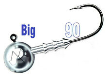 Mustad Big Game Jig Heads / size: #15/0 - 15-50g / 20pcs. per pack!