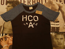 HOLLISTER BY ABERCROMBIE & FITCH WOMEN'S CREW NECK SHORT SLEEVE T SHIRTS BNWT
