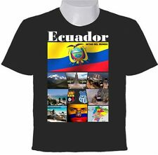 ECUADOR - LA MITAD DEL MUNDO T-SHIRT - PHOTO COLLAGE