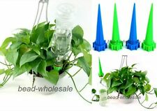 New 4x Cone Watering Spike Garden Plant Flower Waterers Bottle Irrigation System