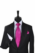 Men's & Boy's Wedding Formal Business Tie In Shades of Pink