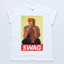 Swag Fresh Prince Tee 90's Dope Hipster Will Smith Trill Obey Indie Sk8r T-shirt