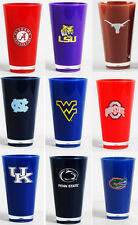 Insulated Acrylic Tumblers - Licensed NCAA College Team Fan Gear - 20 oz cups