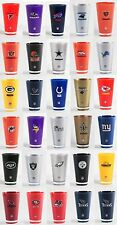 Insulated Acrylic Tumblers - Licensed NFL Teams Fan Gear - 20 oz cups