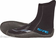 Bare 7mm Boot Scuba Diving Snorkeling Booties Wetsuit Boots