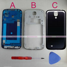 New OEM Black Housing Middle Frame Back Cover for Samsung Galaxy S4 i9500
