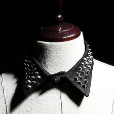 Mens Casual  Stud Collar ByTheR Korean Fashion Color Black