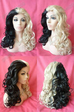 "18""-28""  Synthetic Lace Front Wig new women's Front Lace Full wig+wig cap giftT6"