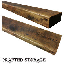 RECLAIMED CHUNKY FLOATING SHELF SHELVES WOODEN FREE DELIVERY