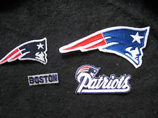 NEW NFL Iron ON Patch or Applique; Choice of (1)!!! NEW ENGLAND PATRIOTS