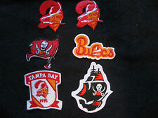 NEW NFL Iron ON Patch or Applique; Choice of (1)!!! Tampa Bay Buccaneers VINTAGE