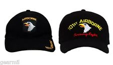 101 Airborne Assault Ball Cap 101st Screaming Eagles ARMY Black Baseball Hat New