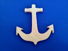 Anchor Wooden Craft Shape Sizes & Qtys Available Nautical Beach Seaside