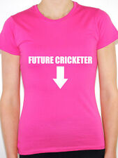 CRICKETER FUTURE - Sports / Cricket / Ashes / Pregnancy Themed Womens T-Shirt