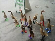 Funky Fun Wooden Ducks, Ideal For Living Room,