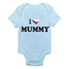 I LOVE CZECH MUMMY - Mum / Mother / Czech Republic Themed Baby Grow / Romper