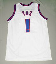 TAZ TUNE SQUAD SPACE JAM MOVIE JERSEY TOON WHITE NEW - ANY SIZE S - 5XL