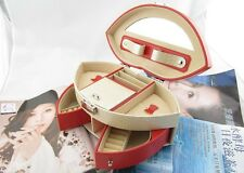 Sexy Lips Portable Ring Jewelry Box Cosmetics Organizers Gift Cases Boxes Ladies