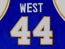 JERRY WEST - WEST VIRGINIA MOUNTAINEERS JERSEY NEW  ANY SIZE XS - 5XL