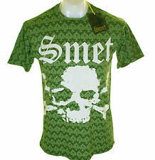Bnwt Authentic Mens Smet Ace Of Spades T Shirt Christian Audigier New Skull XL S
