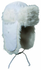 Scala by Dorfman Pacific Womens Shapka Ushanka Trapper Hat with Faux Fur