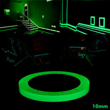 Luminous Self-adhesive Tape Glow In Dark Stage Home Decoration Tape 10mm Green