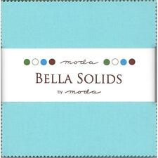 Bella Solids Robins Egg Blue Charm Pack-Moda, 42 5-inch Fabric Squares 9900PP-85