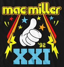 "New! Mac Miller ""XXI 1992"" Music Rapper Concert Tour Adult T-Shirt"