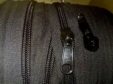 #10 Coil Continuous Zipper BLACK YKK by the Foot, and choose amount of Sliders