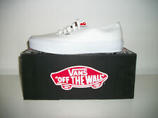 SALE:- VANS AUTHENTICTRAINERS IN  TRUE WHITE WAS £48.99 NOW £39.99