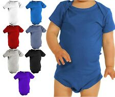 Mato & Hash 100% Cotton Unisex Infant Baby One Piece Short Sleeve Onesie