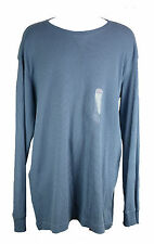 NEW St. Johns Bay Long Sleeve China Blue  2XLT 100% Cotton